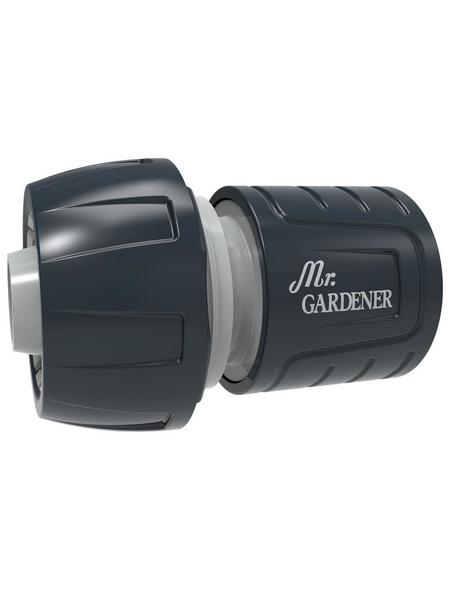 MR. GARDENER Schlauchstück, Kunststoff, grau/schwarz