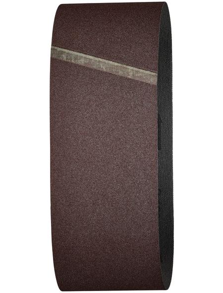 WOLFCRAFT Schleifband, Körnung: K120, rot
