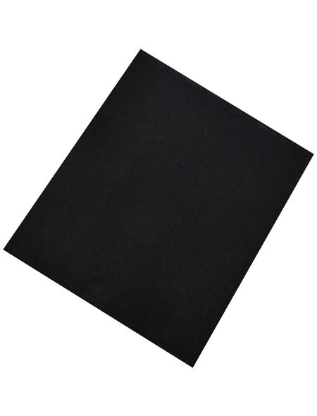 NESPOLI Schleifleinen, Schwarz, 230x280 mm, Körnung 220