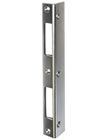 ABUS Schließblech, LxBxH: 2,2 x 2,8 x 21 cm, Silber