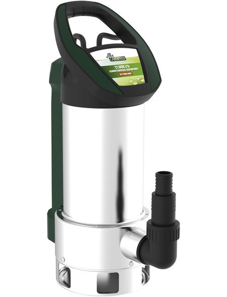 MR. GARDENER Schmutzwasser-Tauchpumpe, 1100 W, Fördermenge: 21000 l/h