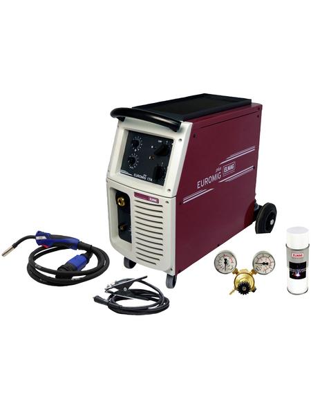 ELMAG Schutzgas-Schweißgerät, 165 A, 400 V