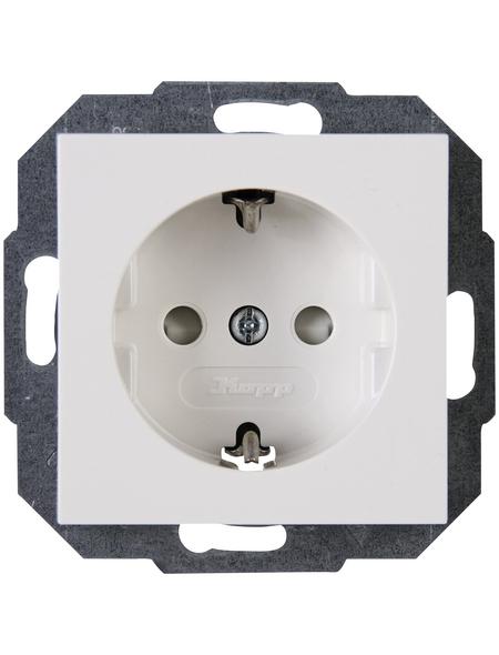 KOPP Schutzkontakt-Steckdose »ATHENIS«, weiß, Kunststoff