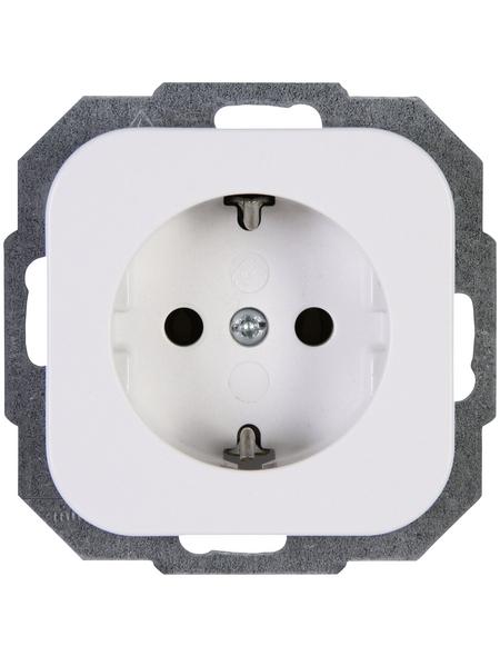 KOPP Schutzkontakt-Steckdose »DONAU«, weiß, Kunststoff