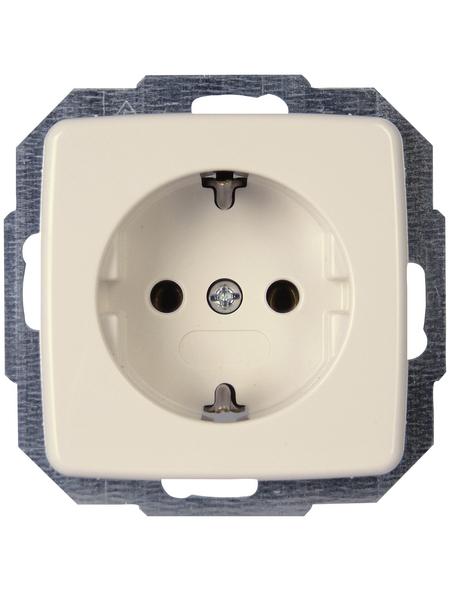 KOPP Schutzkontakt-Steckdose »RIVO«, weiß, Kunststoff