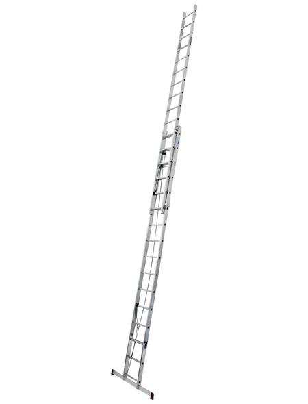 KRAUSE Seilzugleiter »CORDA«, 32 Sprossen, Aluminium