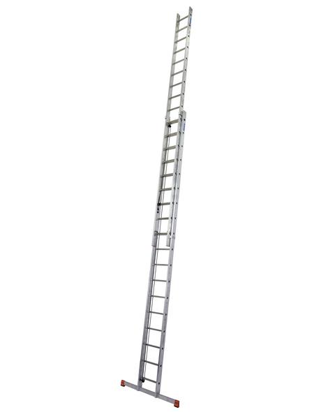 KRAUSE Seilzugleiter »MONTO Robilo«, 36 Sprossen, Aluminium