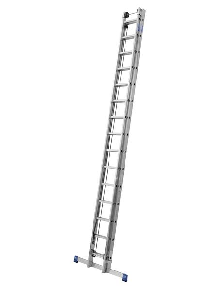 KRAUSE Seilzugleiter »STABILO«, 30 Sprossen, Aluminium