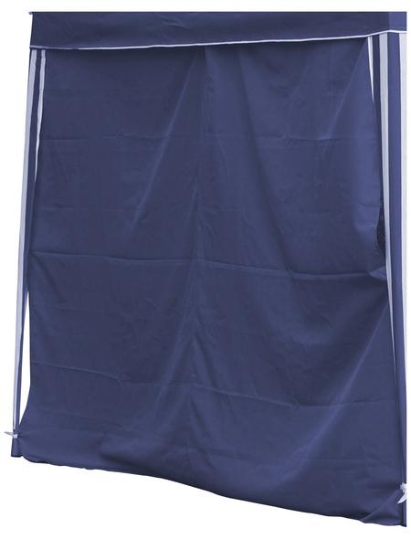 BELLAVISTA Seitenteile, Breite: 290 cm, Polyester, blau