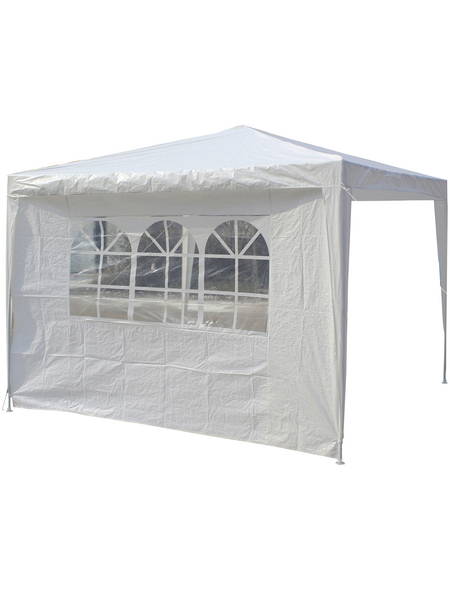 BELLAVISTA Seitenteile, Breite: 290 cm, Polyethylen, weiß, mit Fenster