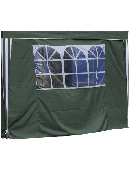 BELLAVISTA Seitenteile, grün, Breite: 290 cm, Polyester, mit Fenster