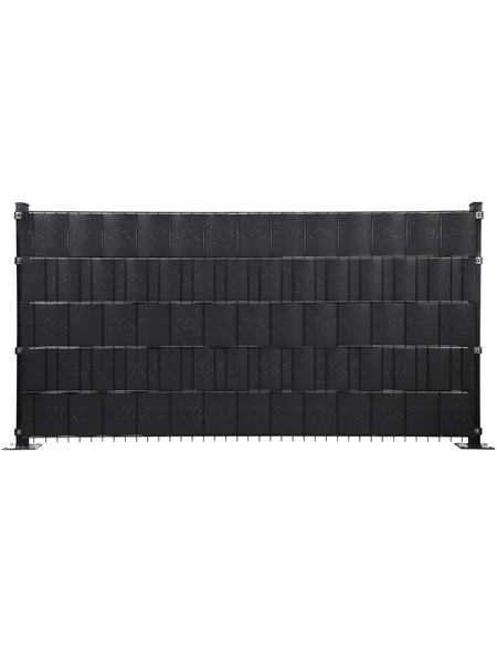 FLORAWORLD Sichtschutzstreifen »Comfort«, PVC, 5 Streifen, LxH: 251,5 x 19 cm