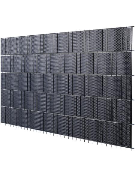 FLORAWORLD Sichtschutzstreifen »Premium«, PVC, LxH: 255 x 19 cm