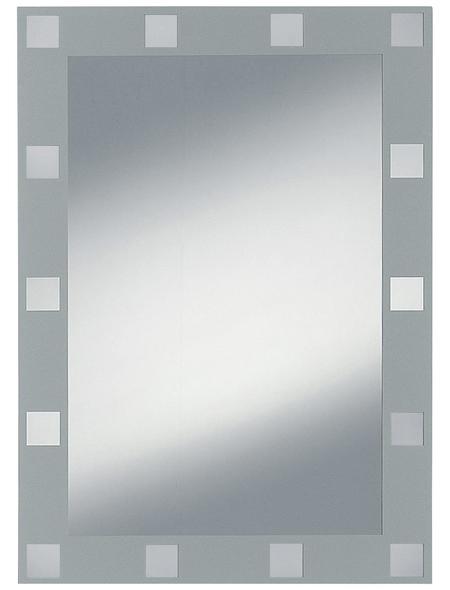 KRISTALLFORM Siebdruckspiegel »Domino«, rechteckig, BxH: 50 x 70 cm