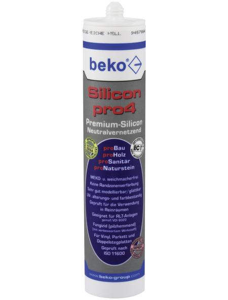 BEKO Silikon, lichtgrau, 0,31 l