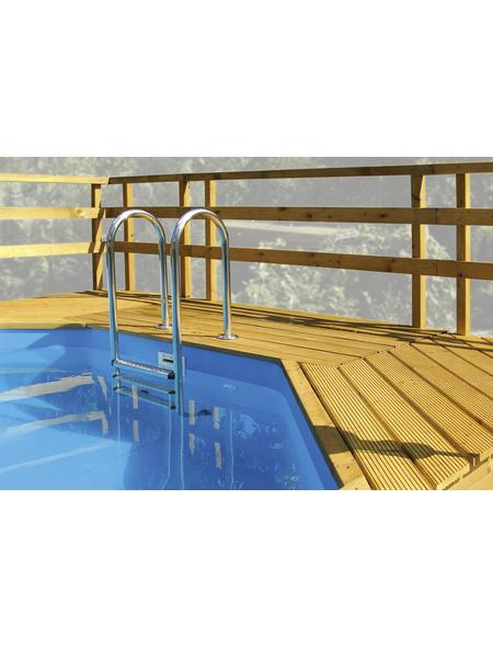WEKA Sonnendeck, BxLxT: 111 x 195 x 215 cm, Nadelholz