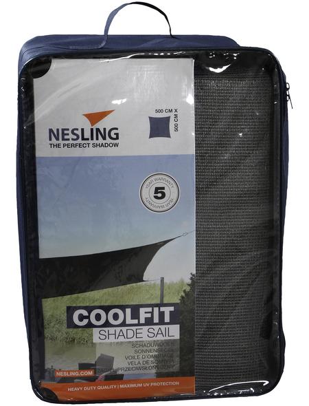 NESLING Sonnensegel »Coolfit «, quadratisch,  Format: 500 x 500 cm