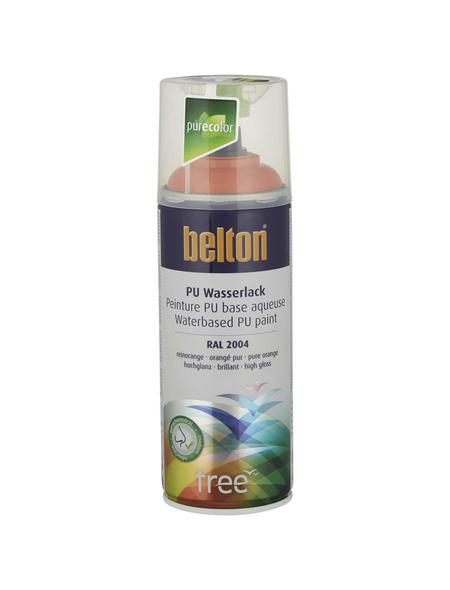 BELTON Sprühlack »Free«, 400 ml, reinorange