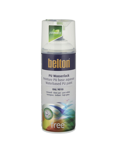BELTON Sprühlack »Free«, 400 ml, reinweiß