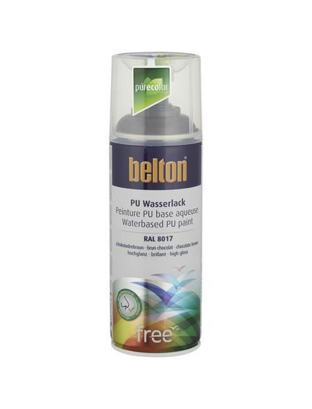 BELTON Sprühlack »Free«, 400 ml, schokobraun