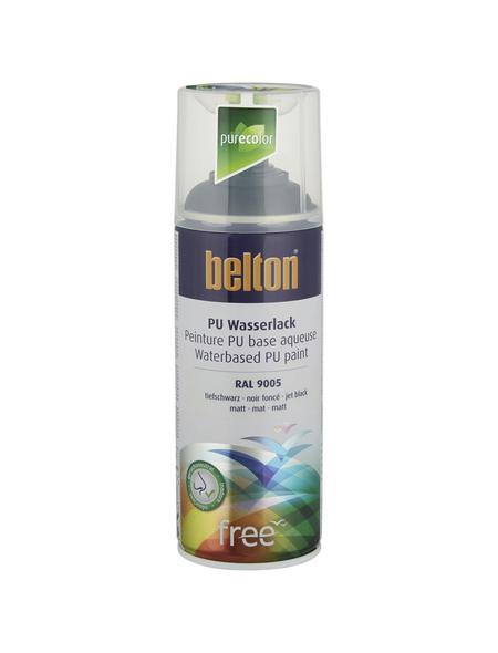 BELTON Sprühlack »Free«, 400 ml, tiefschwarz