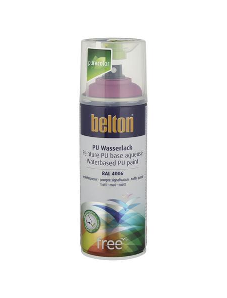 BELTON Sprühlack »Free«, 400 ml, verkehrspurpur