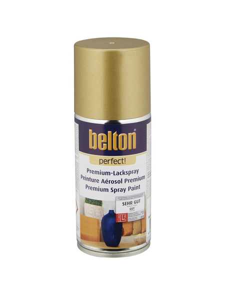 BELTON Sprühlack »Perfect«, 150 ml, gold