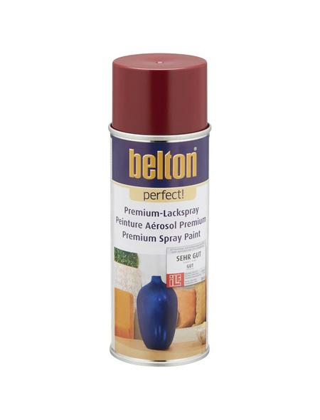 BELTON Sprühlack »Perfect«, 400 ml, dunkelrot