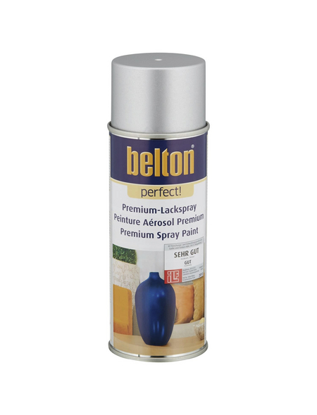 BELTON Sprühlack »Perfect«, 400 ml, silber