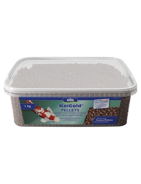 SÖLL Teichfischfutter »KoiGold«, 3 l, 1000 g