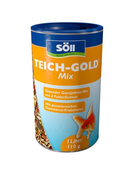SÖLL Teichfischfutter »TEICH-GOLD«, 1 Stück à 110 g