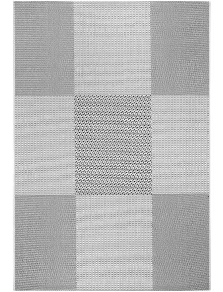 ANDIAMO Teppich »Alicante«, BxL: 133 x 151 cm, anthrazitgrau