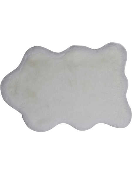 ANDIAMO Teppich »Cingoli«, BxL: 55 x 80 cm, weiß