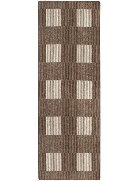 ANDIAMO Teppich »Dijon«, BxL: 67 x 200 cm, beige