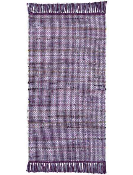 ANDIAMO Teppich »Frida «, BxL: 60 x 120 cm, violett