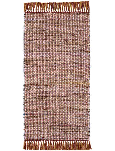 ANDIAMO Teppich »Frida Wohnidee«, BxL: 60 x 120 cm, orange