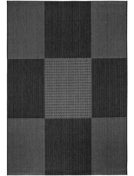 ANDIAMO Teppich »Manarolo«, BxL: 67 x 135 cm, anthrazit