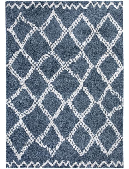 ANDIAMO Teppich »Mia«, BxL: 67 x 140 cm, blau