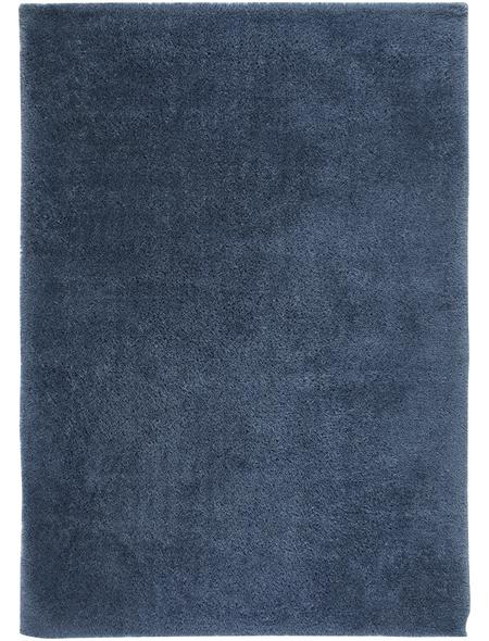 ANDIAMO Teppich »Posada«, BxL: 65 x 130 cm, blau