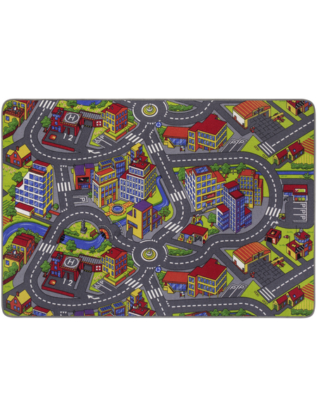 ANDIAMO Teppich »Strasse«, BxL: 140 x 200 cm, bunt