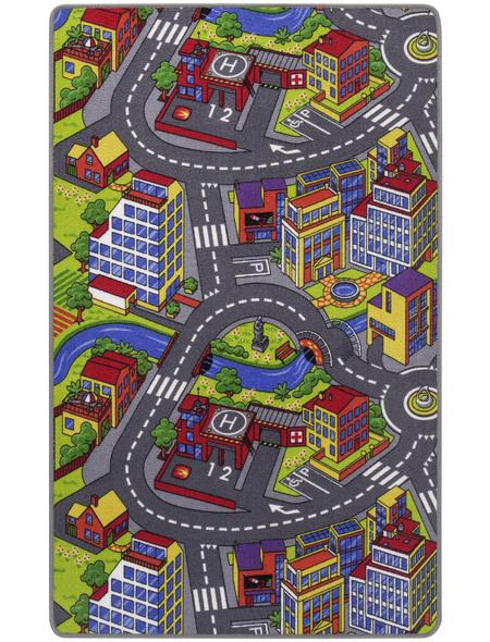 ANDIAMO Teppich »Strasse«, BxL: 165 x 100 cm, bunt
