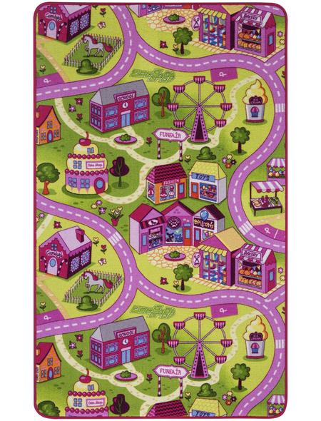 ANDIAMO Teppich »Sweet Village«, BxL: 100 x 165 cm, bunt