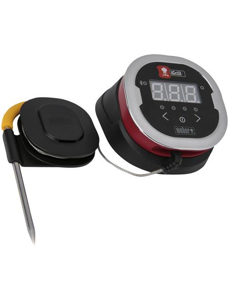 WEBER Thermometer »iGrill«, 2 Temperaturfühler, Edelstahl/Kunststoff
