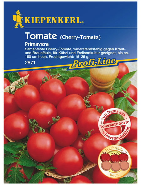 KIEPENKERL Tomate (Cherry-Tomate) Solanum lycopersicum »Primavera«