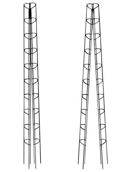 BELLISSA Tomatenturm, Höhe: 180 cm, Stahl