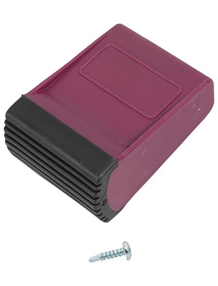 KRAUSE Traversenfußkappe »CORDA«, violett, Kunststoff