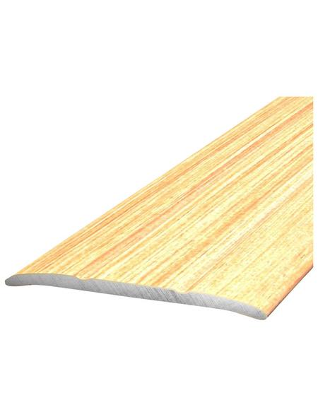 CARL PRINZ Übergangsprofil, BxHxL: 38 x 2 x 900 mm, ahornfarben