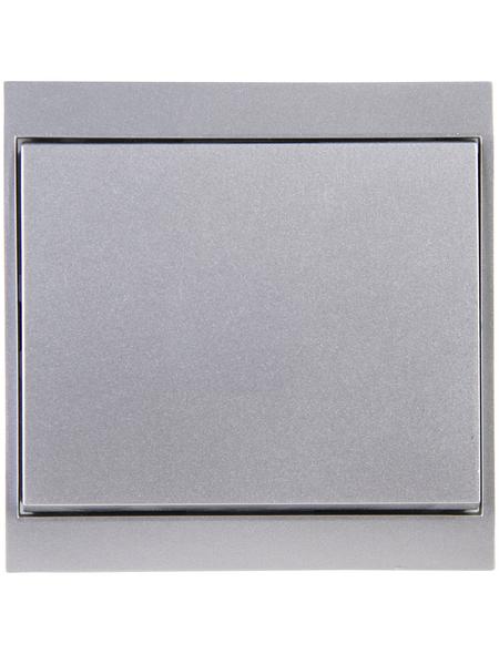 KOPP Universalschalter, Aus-/Wechselschalter, MALTA, Kunststoff, Silber
