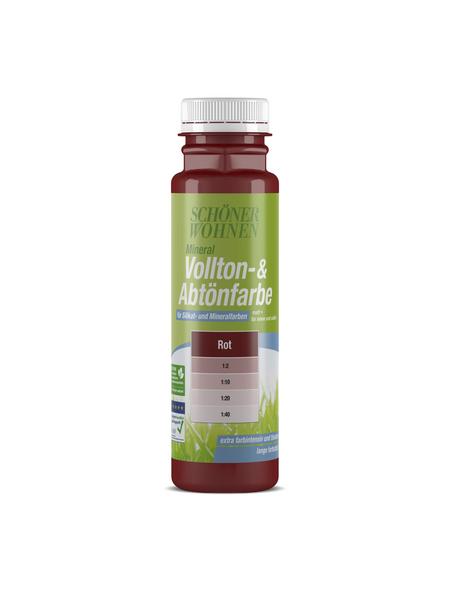 SCHÖNER WOHNEN FARBE Voll- und Abtönfarbe, rot, 250 ml
