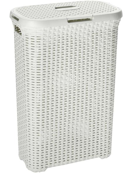 Wäschebox, BxHxL: 44,7 x 61,2 x 26,5 cm, Kunststoff